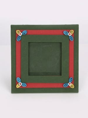 Recycled Handmade Paper Photo Frame