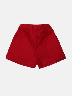 Red Cotton Pant