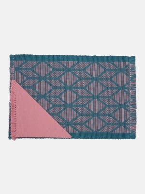 Teal Cotton Placemat