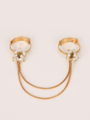 Brass Double Ring