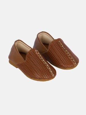 Light Brown Leather Shoe