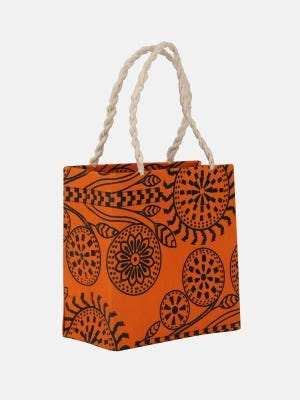 Recycled Handmade Paper Shopping Bag