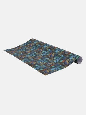 Midnight blue Printed Wrapping Paper