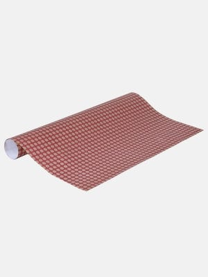 Maroon Printed Wrapping Paper
