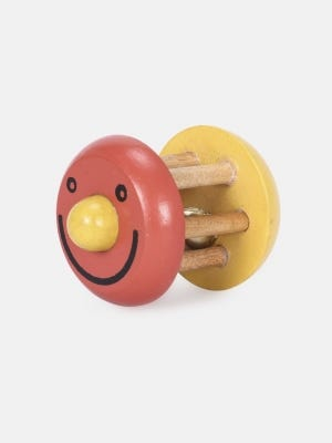 Wooden Toy with Bell