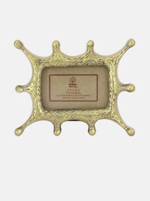 Brass Abstract Photo Frame