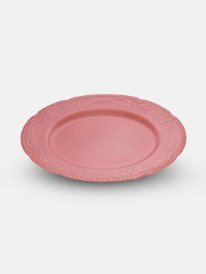 Dusty Pink Serving Plate - 31 cm
