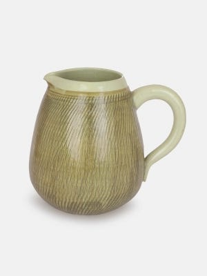 Brown Studio Firing Jug