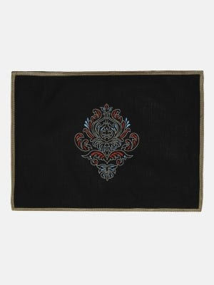 Jute Embroidered Placemat