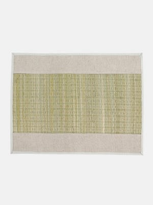 Natural Jute and Straw Placemat