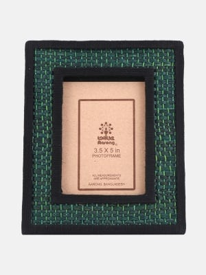 Jute and Straw Photo Frame