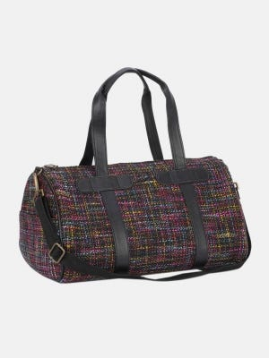 Multicolour Jute Travel bag
