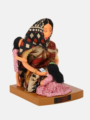Traditional Wooden Doll