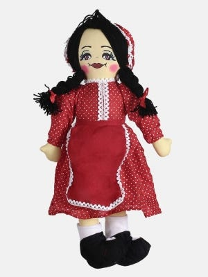 Red Cotton Doll