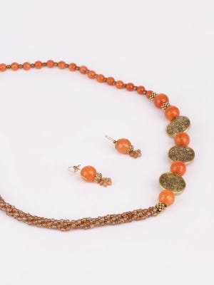 Stone Necklace Set