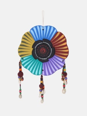 Multicolour Clay Wall Hanging
