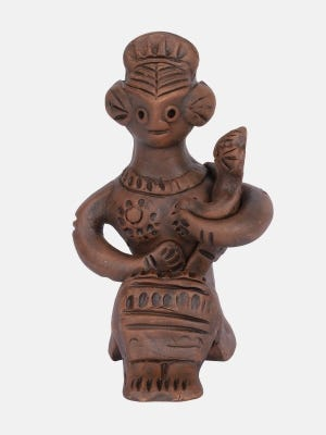 Clay Tepa Doll