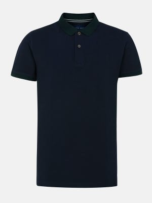 Navy Blue Classic Fit Polo Shirt