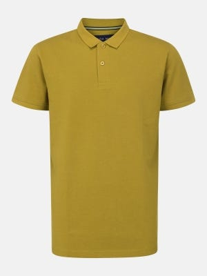 Yellow Ochre Classic Fit Cotton Polo Shirt