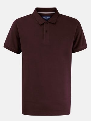 Chocolate Classic Fit Cotton Polo Shirt