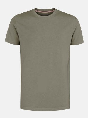 Sage Green Classic Fit Cotton T-Shirt