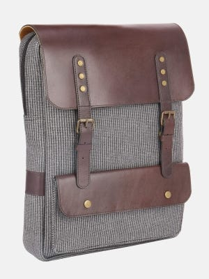 Flannel Casual Backpack
