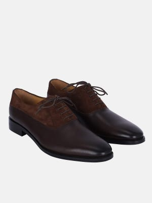 Brown Leather Formal Shoe