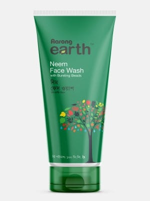 Aarong Earth Neem Face Wash with Bursting Beads